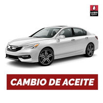 Cambio Aceite Y Filtro Honda Accord 3.5 V6 24v I-vtec