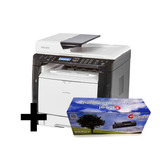 Impresora Multifunción Byn Ricoh Sp 377sfnwx+ Toner Global