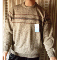 Sweater P/hombre Mauro Sergio C/redondo Oferta Imperdible!!