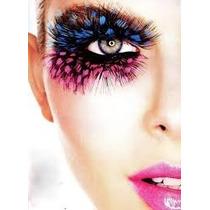 Pestañas Postizas Maquillaje Artistico C/pegamento Cosmetico