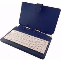 Teclado Y Funda P/tablet De 10 Pulgadas Kelyx Dle-10-bw Blue
