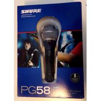 Microfono Shure Pg 58