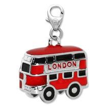 Nuevo Dije Monona Plata 925 London Bus 058 Tienda Oficial !!