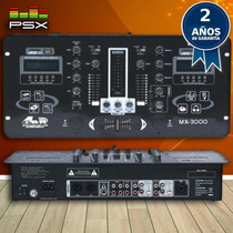 Consola Mezcladora Mixer Gbr Mx-3000 Mp3 Dj *usb *sd