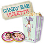 Kit Imprimible Candy Bar Violetta - Editable