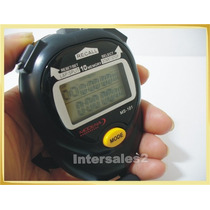Cronometro 10 Memorias Lap Split Reloj Alarma Marca Modena