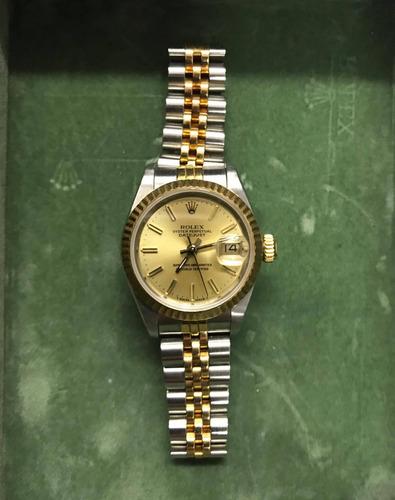 venta minorista 89155 42e3e Reloj Rolex Mujer Oyster Perpetual Combinado en venta en por ...