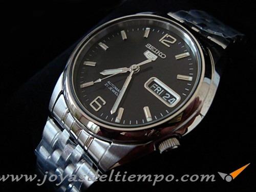 Reloj Seiko 5 Automatico Negro Snk393k1 snk669k1 Gtia a04ed3f10ae0