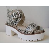 Plataformas Sandalias De Cuero Liquidación 2016 Zapatos