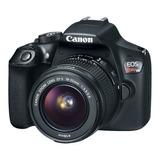 Canon  Eos Rebel T6 18-55mm Iii Kit Dslr Negra