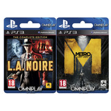 L.a. Noire: The Complete Edition + Metro: Last Light - Omnip