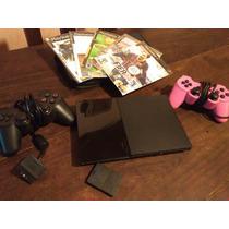 Playstation 2 Chipeada Con Juegos