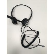 Headset Elytec Cabezal Auric + Mic Ficha Rj11 Manos Libres
