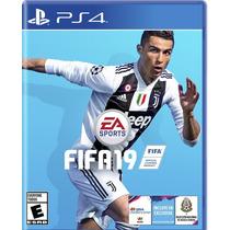 Fifa 19 Ps4 Nuevo Original Fisico Cd Sellado Español Latino