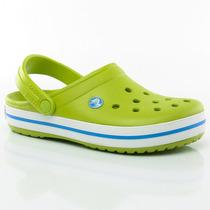 Zuecos Sandalias Crocband Volt Green Crocs Sport 78