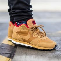 Zapatillas Nike Internationalist Mid Hombres - Cuero Genuino