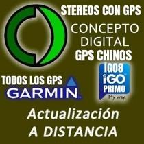 Actualiza Tu Gps Chino Garmin Igo8 O Tu Auto Desde Tu Casa
