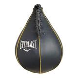 Pera Punching Ball Everlast Cuero Profesional Boxeo Speed