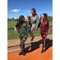 nuevo producto última venta grandes variedades Conjunto Jogging Y Buzo adidas Frizado De Mujer Original en ...