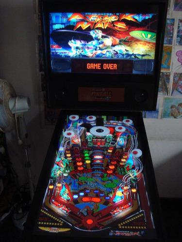 Virtual Pinball 40/32 Flipper Digital Arcade Mame Multijueg, Compra y Venta