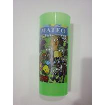 Vasos Plasticos Personalizados Plants Vs Zombies Lavables10u