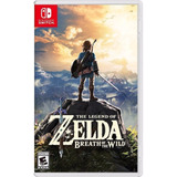 The Legend Of Zelda Breath Of The Wild Nuevo Fisico Switch