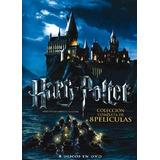 Harry Potter Coleccion Completa 8 Dvd En Box Set Original