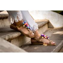 Sandalias Chatitas Mujer Coleccion Verano 2019 Art Jaipur