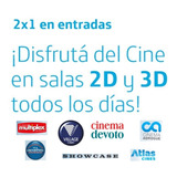 Beneficio 2x1 Entradas 2y3 D Village Cines Showcase Atlas