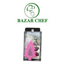 Manga De Plastico + 4 Picos Acero - Bazar Chef