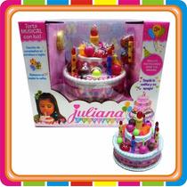Torta Juliana Chica Luces Y Sonido!!!