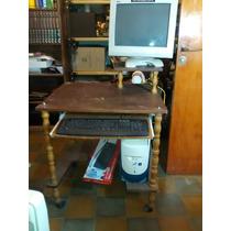 Muebles Para Computadora De Madera.Mesa Escritorio Para Computadora De Madera En Venta En General Pico
