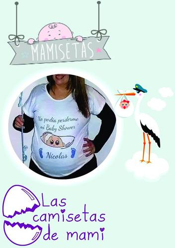 821479fe1 Remeras Embarazadas-futura Mama-baby Shower Personalizadas en venta en  Ituzaingó Norte Ituzaingó Bs.As. G.B.A. Oeste por sólo   490