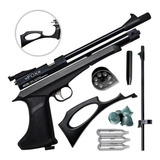 Pistola Co2 Fox Batman Cp2 Rifle Aire Comprimido Caza Cuotas
