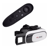 3d Vr Box + Joystick Realidad Virtual, Cine Netflix Youtube