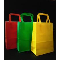 Bolsas De Papel. Colores Varios. X 10 Unidades (romipack)