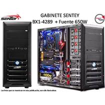Gabinete Sentey Bx1-4289  + Fuente 650w  Mid Tower