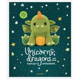 14 Patrones Dragones / Unicornios Crochet Amigurumi Ing Esp
