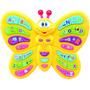 Juguete Mariposa Didactica Con Sonidos, 3 Modos De Juego