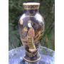 Antiguo Violetero Porcelana Inglesa Con Geisha Y Reparación