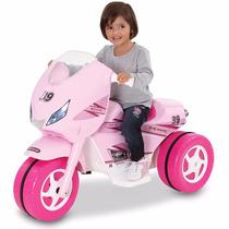 Triciclo Karting Auto Moto Cuatriciclo Niña Bateria 20% Off