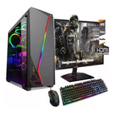 Computadora Completa Amd Intel Dual Core Monitor Led 19 Lol