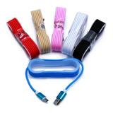 Cable Micro Usb Datos Y Carga 1 Metro Mallado Excelente