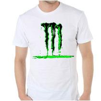 Remera Diseños Exclusivos! Estampada Sublimada Monster