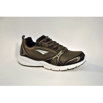 Zapatilla Penalty Smash Running Negro Gris