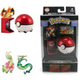 Pokemon Pokebola C/ Ruedas Exclusiva Original Tommy T18015