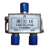 Derivador Spliter De Señal Catv 1 Ent 2 Salidas 1000 Mhz Stg