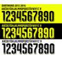 Estampado Números Camiseta Borussia Dortmund 2016