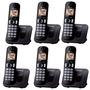 Inalambrico Panasonic 6 Handys Manos Libres Intercomunicador