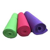 Colchoneta Mat  Yoga Fitness Pilates Meditacion 4mm
